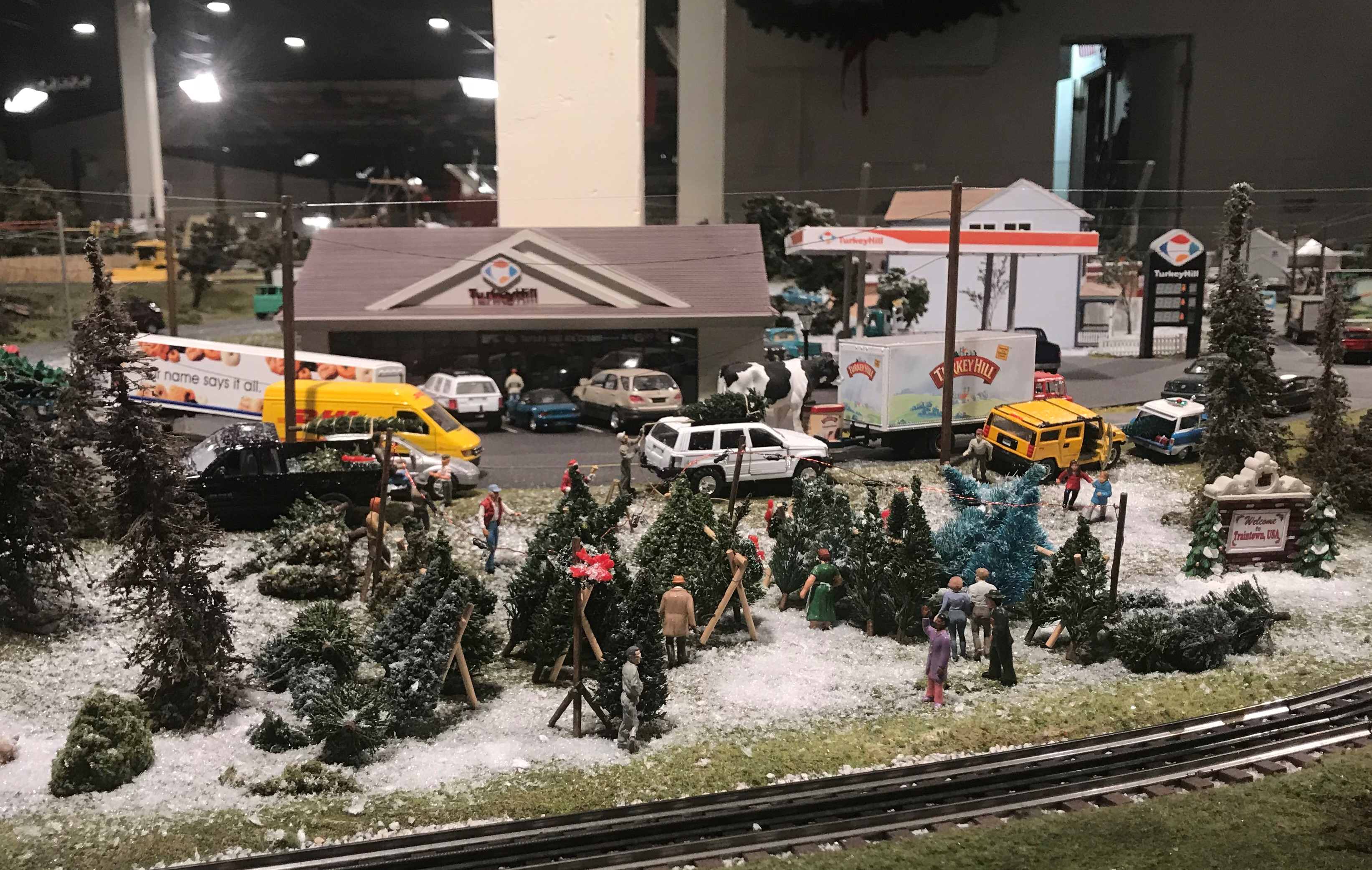 we invite you to celebrate the season as the choo choo barn transforms traintown usa to bring the magic of christmas to its gigantic model train display - Choo Choo Christmas